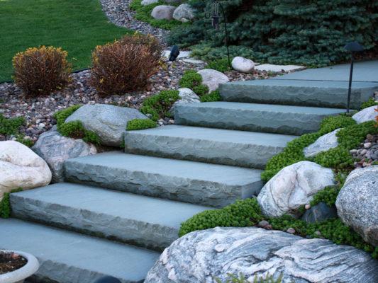 Bluestone Step Riser