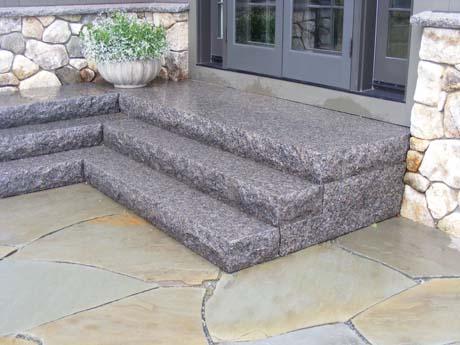Caledonia Granite Riser Step