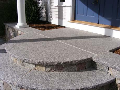 Caledonia Granite Step Treads