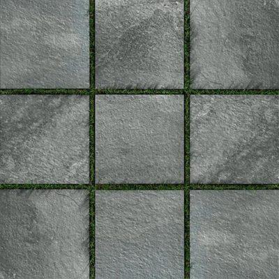 Porcelain Tile Stone Dark Grey