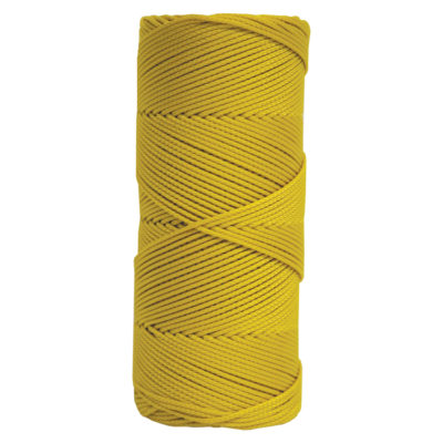 Yellow Braid Line Mason Twine